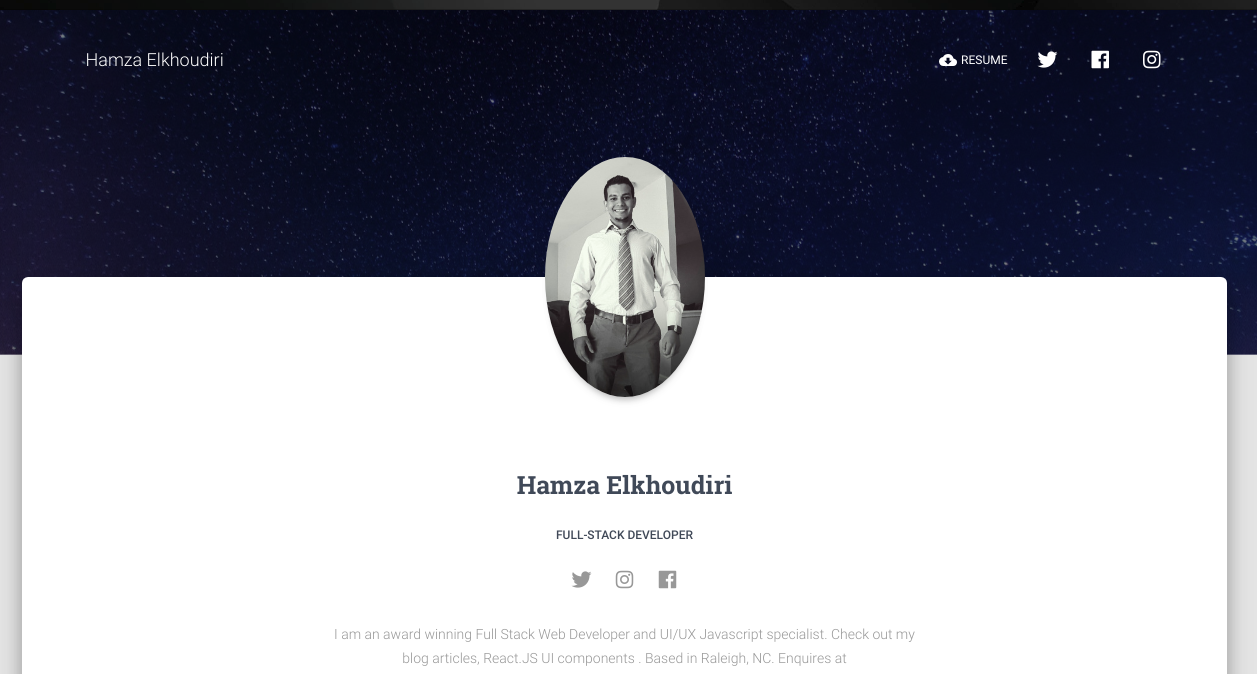 GitHub - elkhoudh/Portfolio-Site-Using-React-and-Material-UI