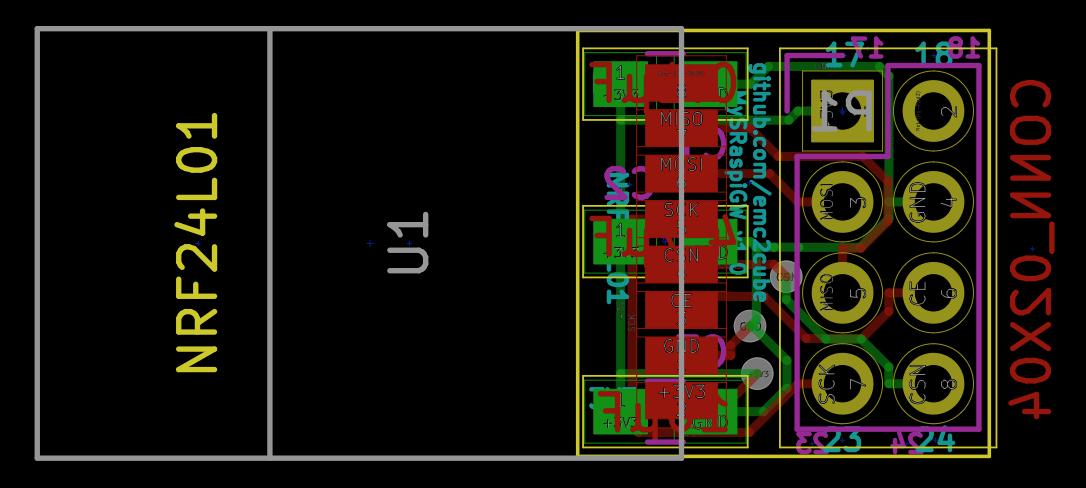 MySRaspiGW regular Kicad PCB