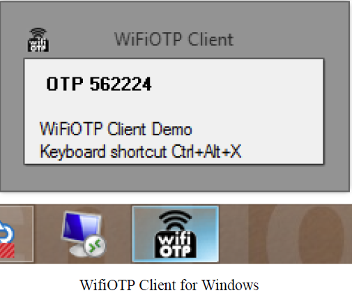 WifiOTP Client