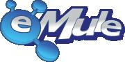 官方电骡(eMule)文字Logo
