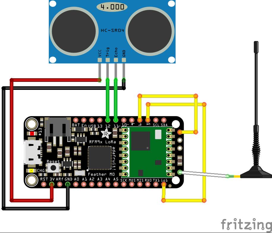 HC-SR04+  wiring