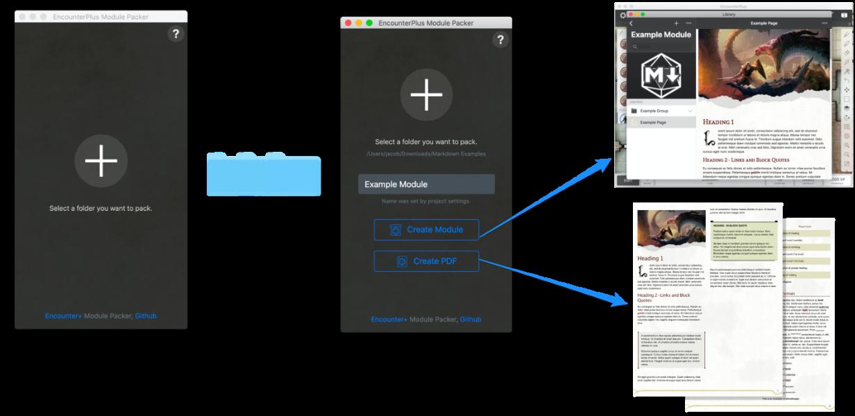 Module Packer Screenshot