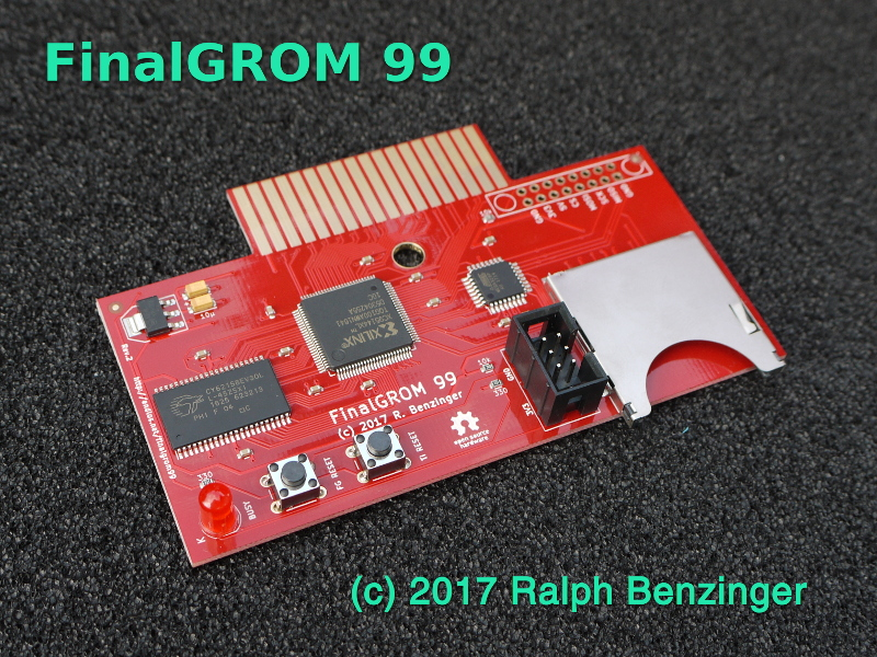 The FinalGROM 99 Cartridge