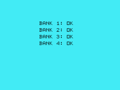 Bank Test Result
