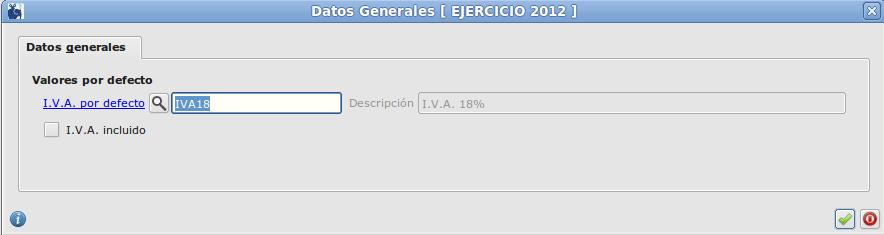 Editar datos generales de almacén