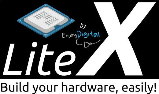LiteX is a Migen/MiSoC based Core/SoC builder that provides the infrastructure to easily create Cores/SoCs (with or without CPU).