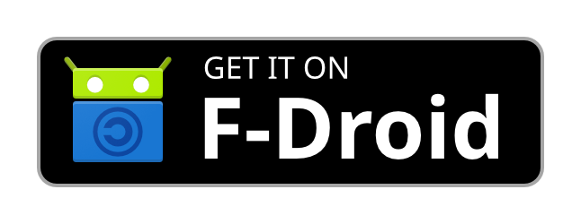 Get it on F-Droid