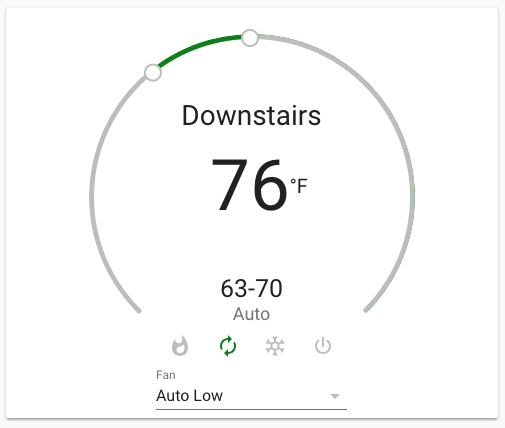 Example thermostat