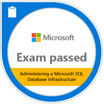 Exam 70-764: Administering a SQL Database Infrastructure