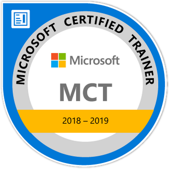 Microsoft Certified Trainer 2018-2019