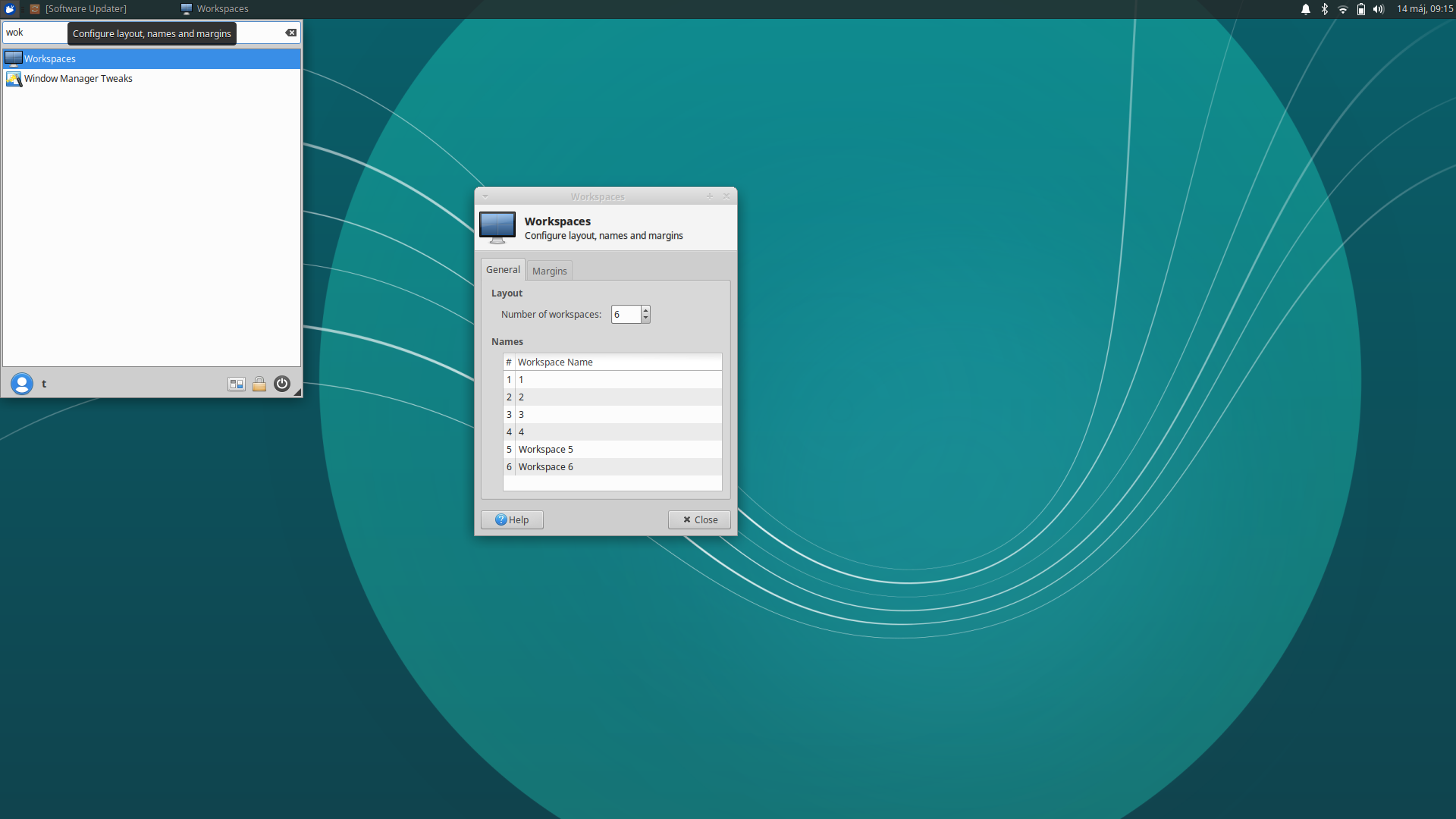 Visualized Desktop Workspace flow in Xubuntu 18 04 - XFCE