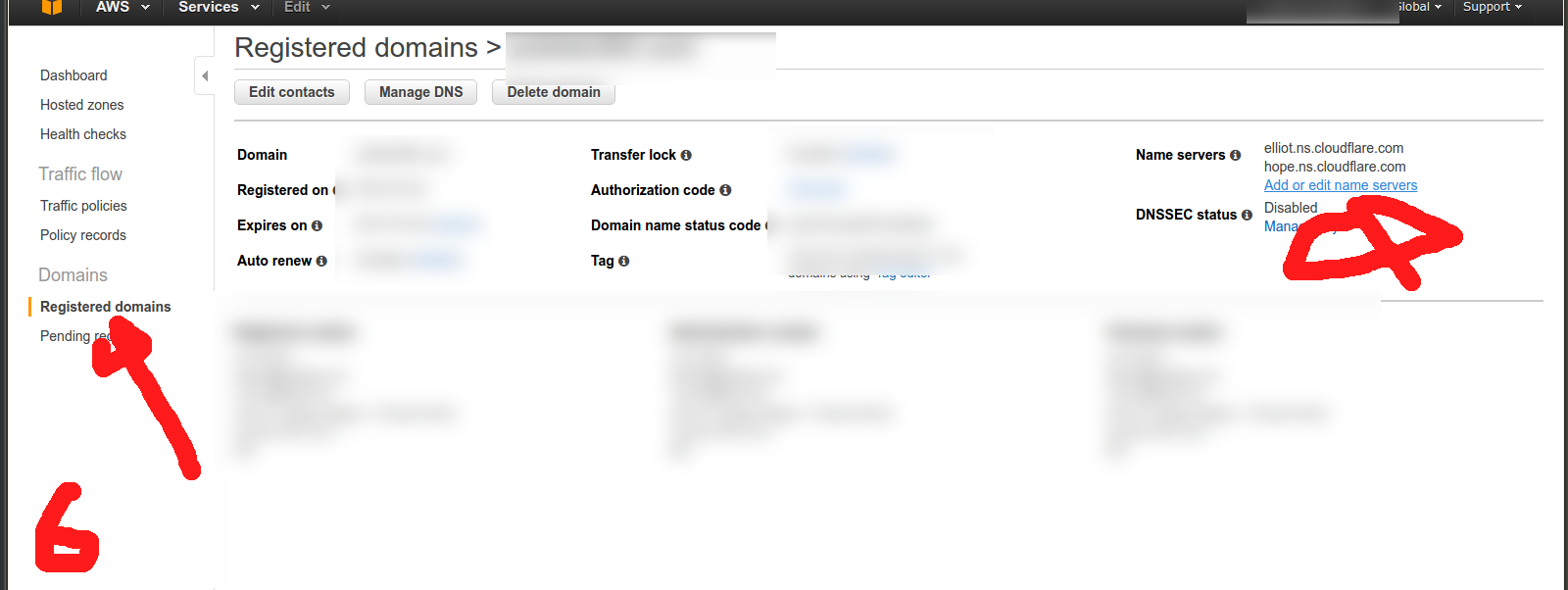 How to configure Route 53 to Cloudflare