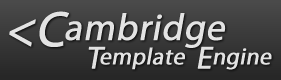 Cambridge Template Engine