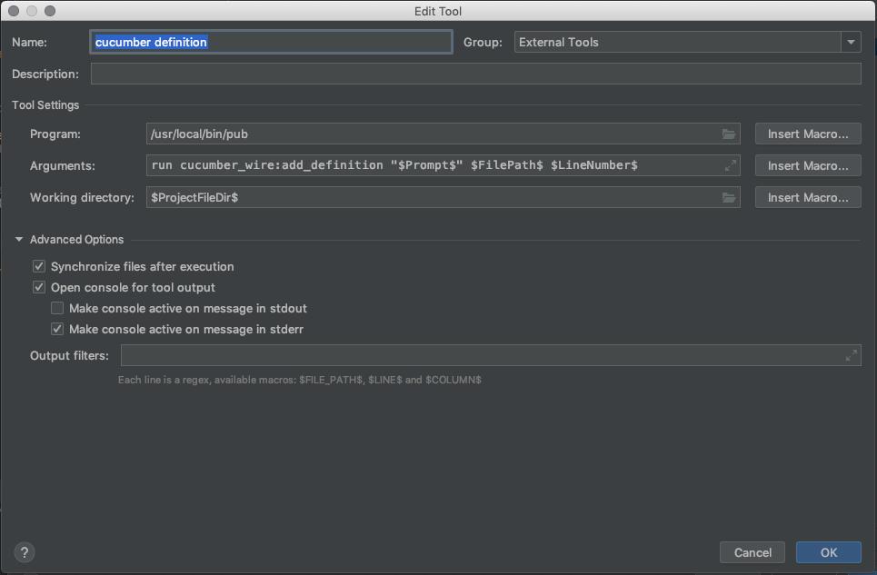 settings tool