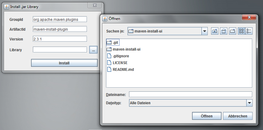 GitHub - escv/maven-install-ui: Util to install 3rd party