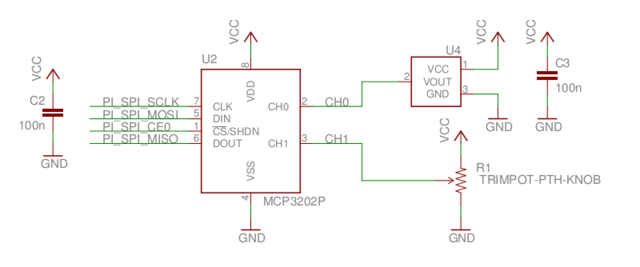SPI schematic