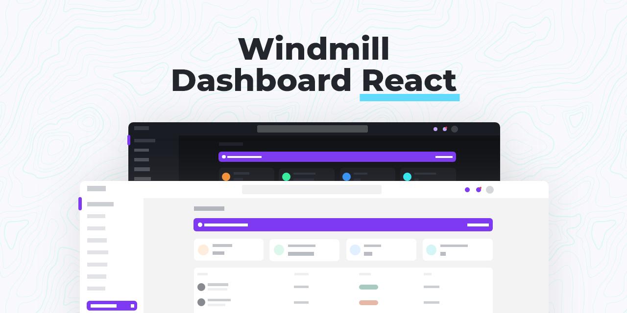 Windmill Dashboard React