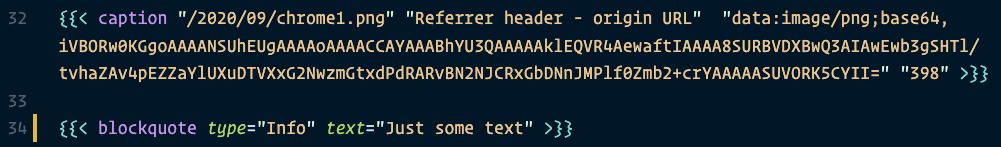 Shortcode syntax highlighting