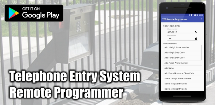 TES Remote Programmer