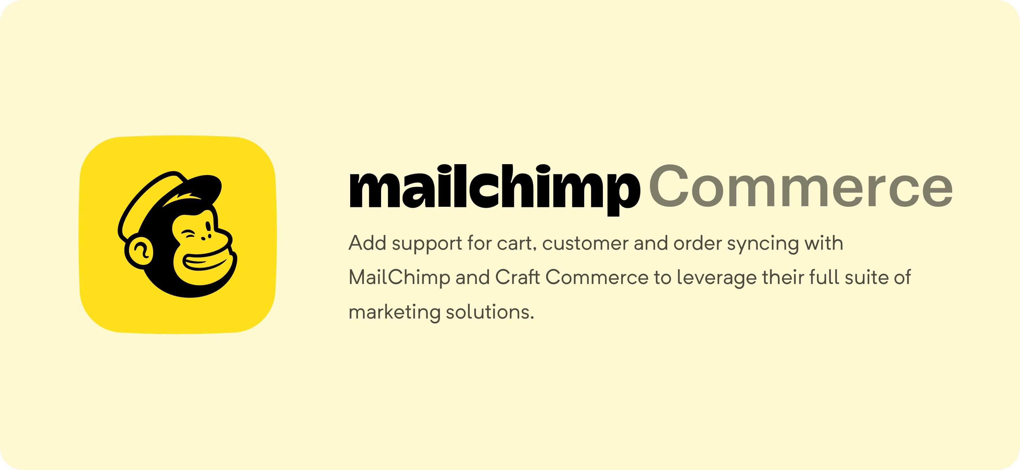Mailchimp for Craft Commerce