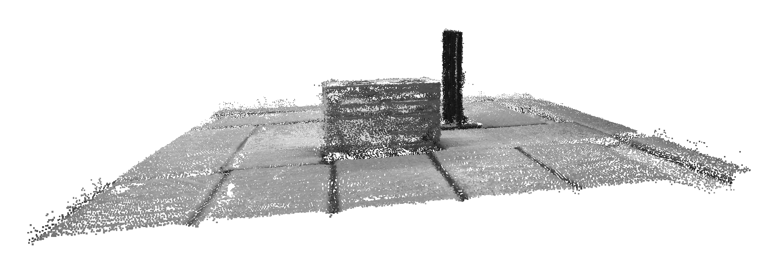 Reconstructed point cloud