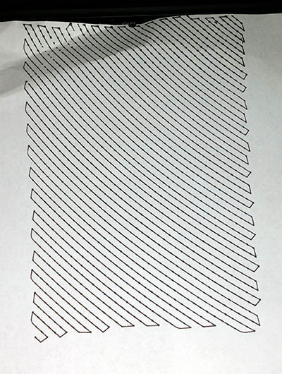 Empty pixel drawing