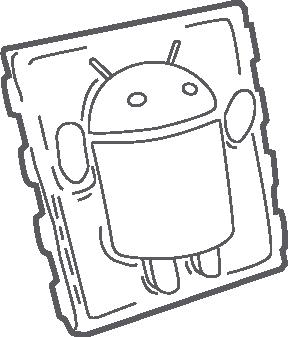 Carbonite Android Logo