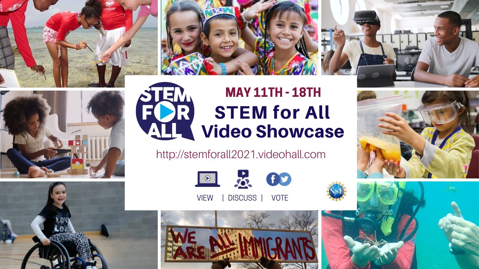 May 11-18, 2021 STEM for All Video Showcase