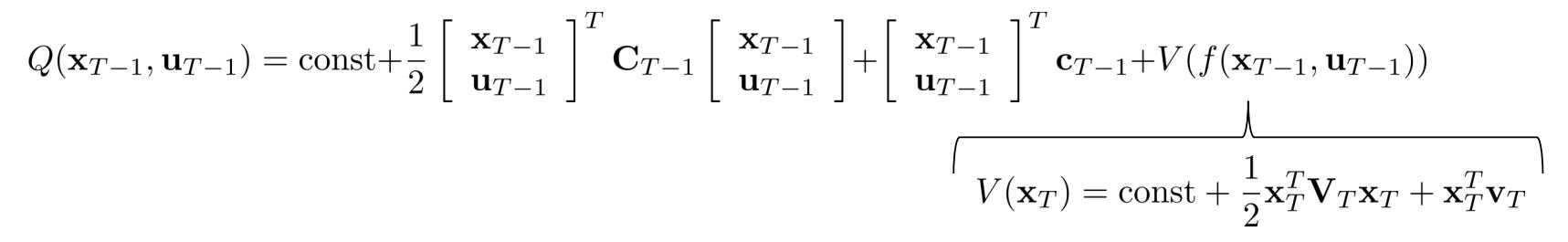 倒数第二个时间步的Q值函数