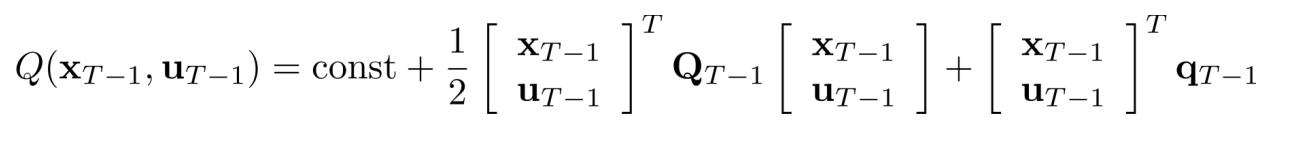带入展开后V值的倒数第二个时间步的Q值函数