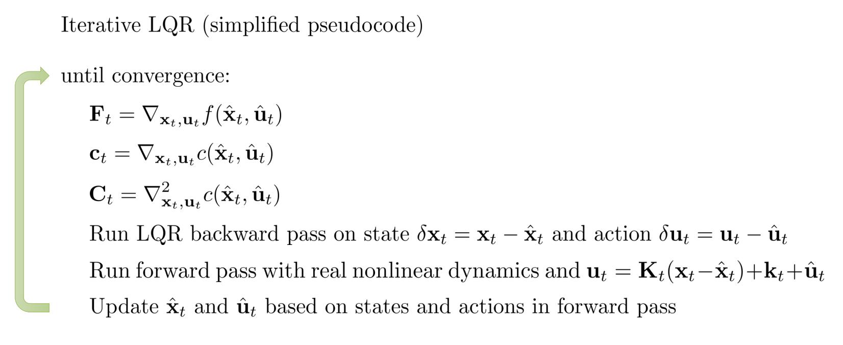 iLQR算法
