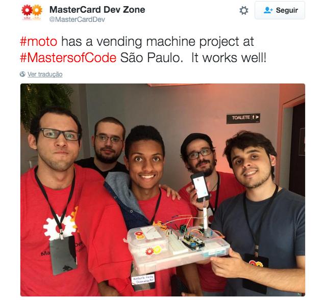MasterCard Vending Machines