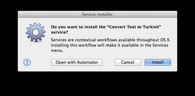 Service Install