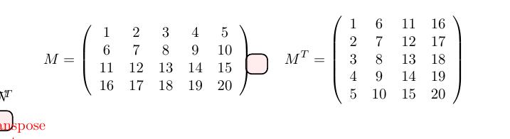 matrix-highlighting