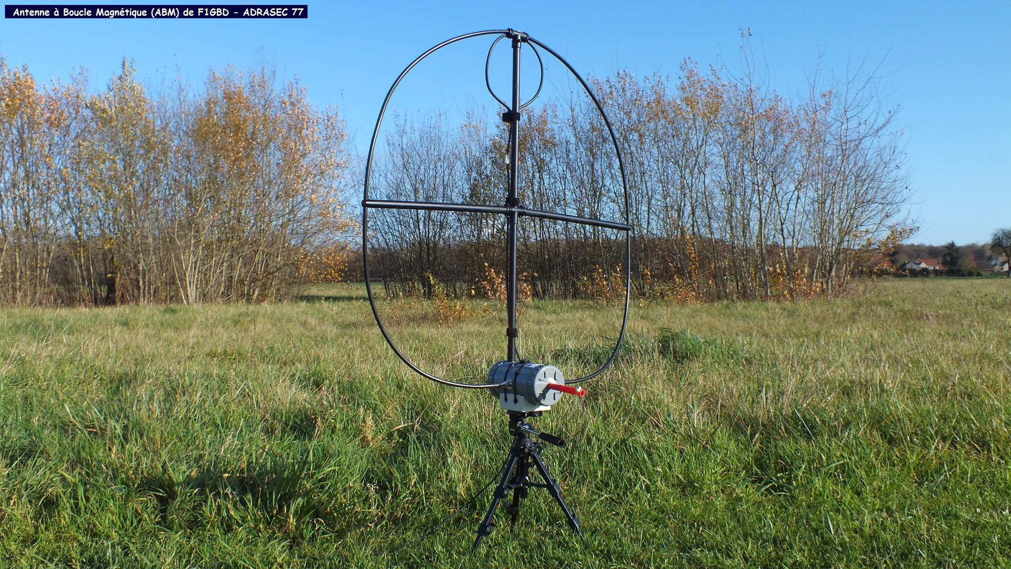 l'Antenne à Boucle Magnétique