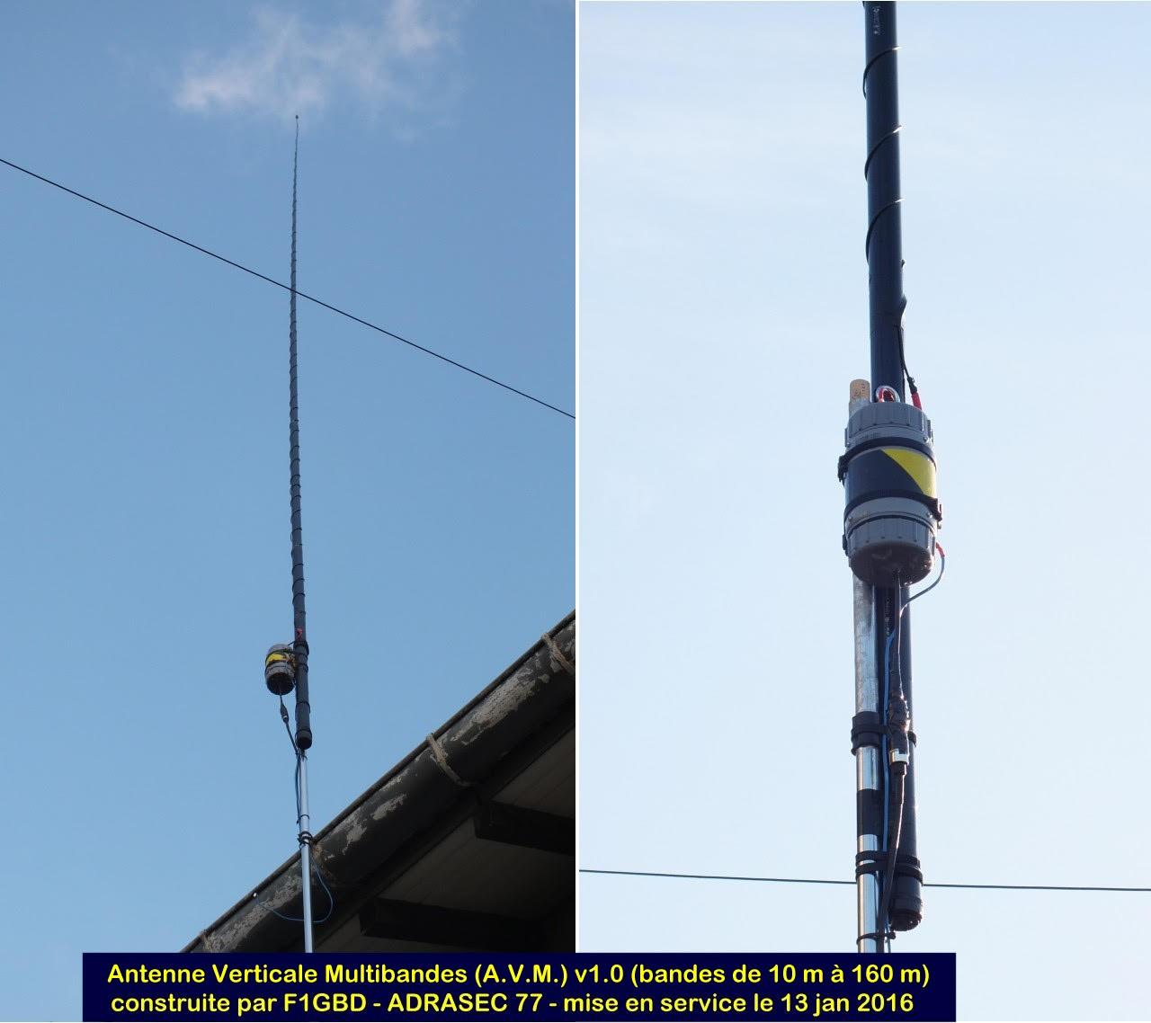 l'Antenne Verticale Multibandes