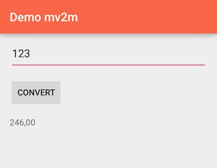 mv2m demo