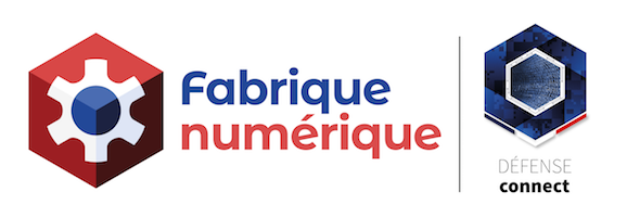 Logo de la Fabrique numérique Défense Connect