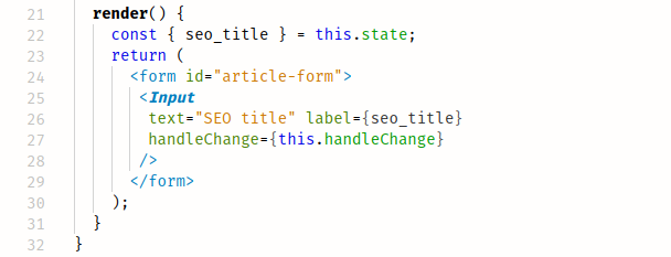 JSX Sample