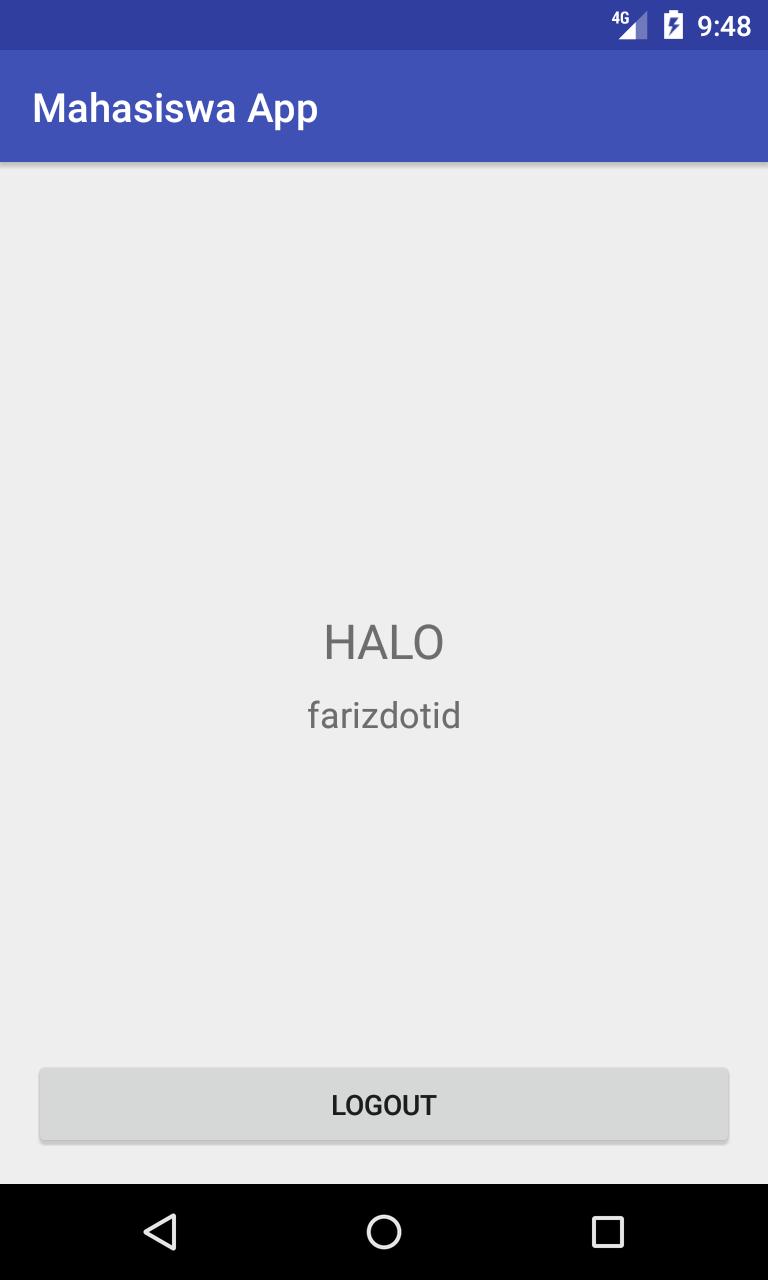 Membuat Session Login Logout Menggunakan SharedPreferences Android
