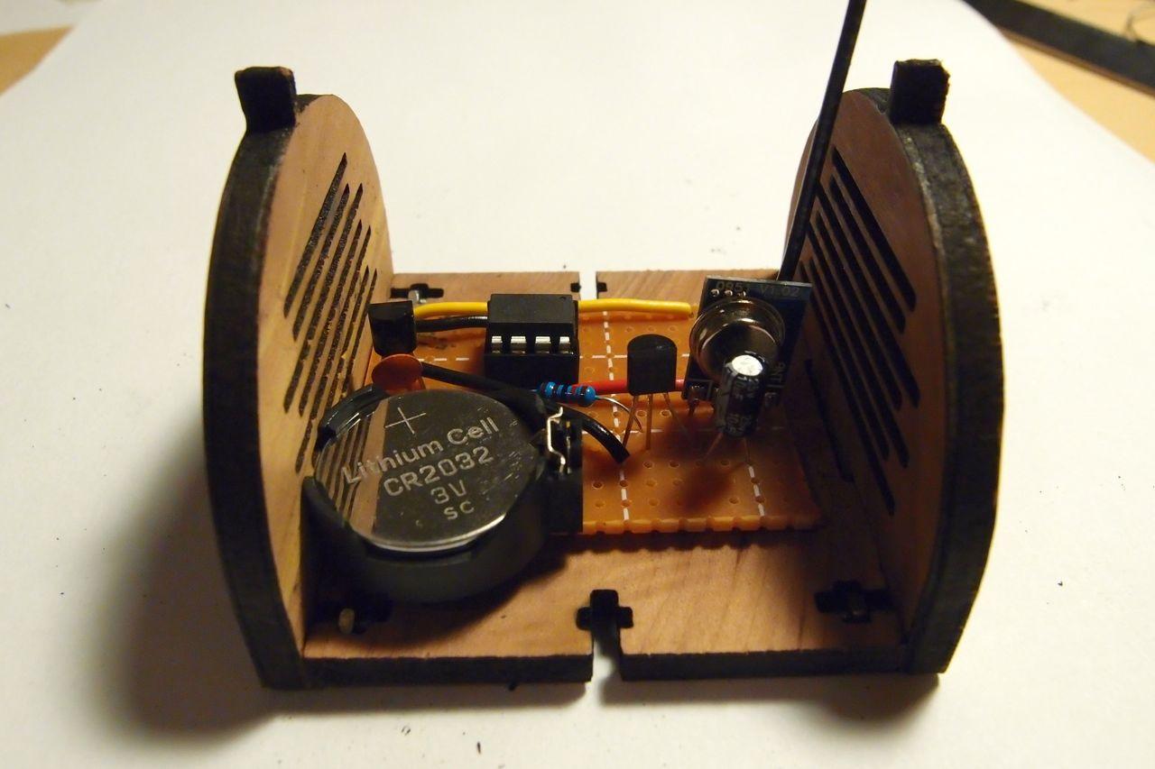 Completed sensor module