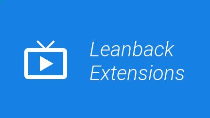 Leanback Extensions
