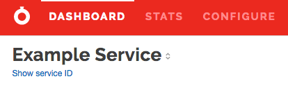 Show Service Id