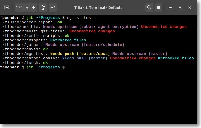 GitHub - fboender/multi-git-status: Show uncommitted