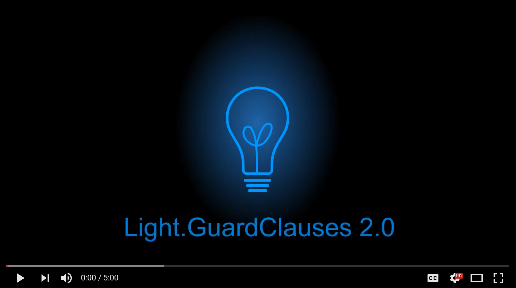 Video introduction to Light.GuardClauses