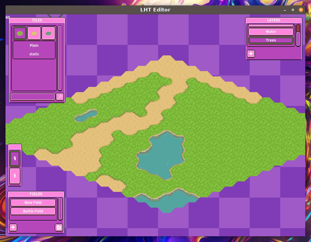 Screenshot featuring the editor UI
