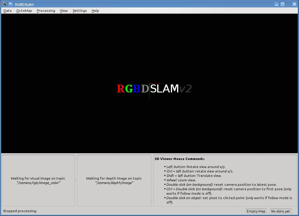 GitHub - felixendres/rgbdslam_v2: RGB-D SLAM for ROS