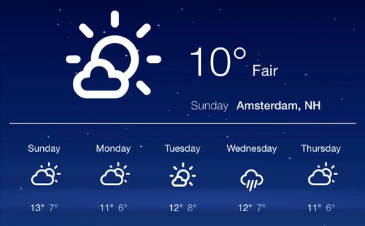GitHub - felixhageloh/weather-widget: A weather widget for