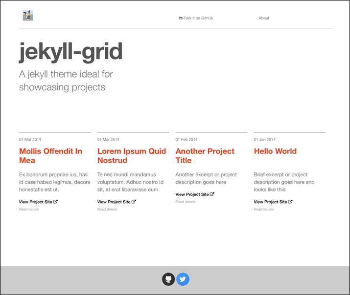 jekyll-grid screenshot