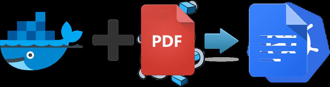 Docker PDF2GDocs